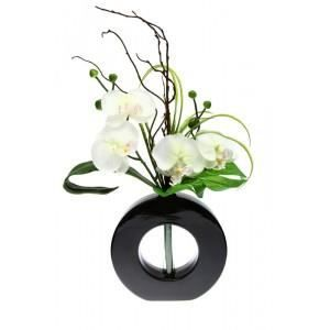 vase orchidee achat vente vase orchidee pas cher cdiscount. Black Bedroom Furniture Sets. Home Design Ideas
