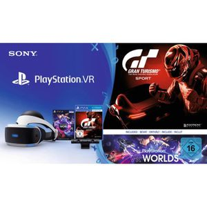 CASQUE RÉALITÉ VIRTUELLE Sony PlayStation VR + PS Camera + PS VR Worlds + G