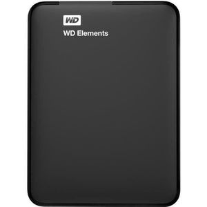 DISQUE DUR EXTERNE WD - Disque dur Externe - Elements Portable - 2To