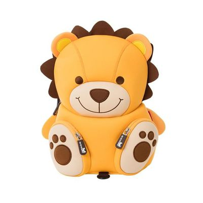 Enfants Mignon Jaune Lion Sac à dos avec rênes Imperméable Enfants Petit Preschool
