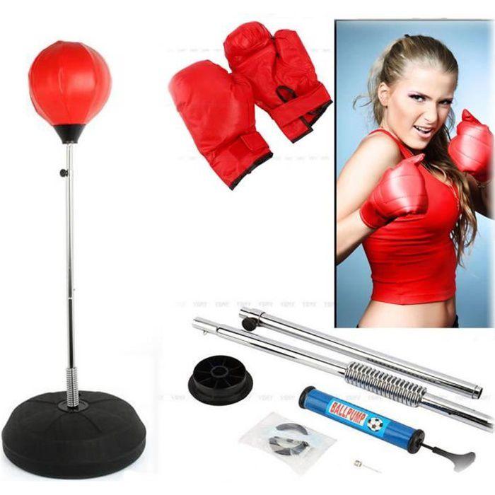 Sac de frappe Sac de Boxe set de boxe pour exerce boxe Adulte