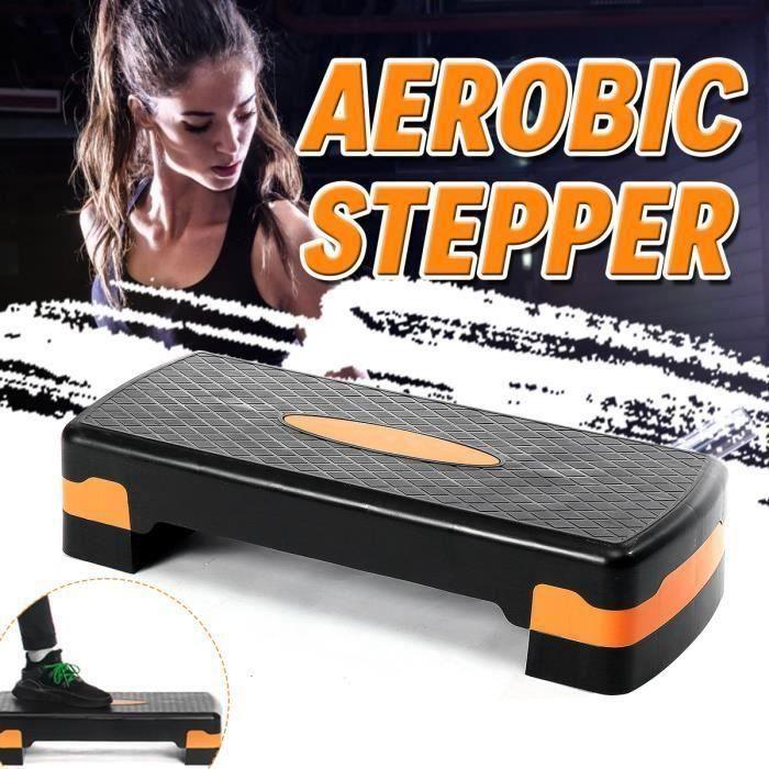 Aérobic Step fitness-Réglable en Hauteur 15 cm Gym domicile