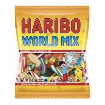 Bonbon Haribo World Mix sachet de 120g