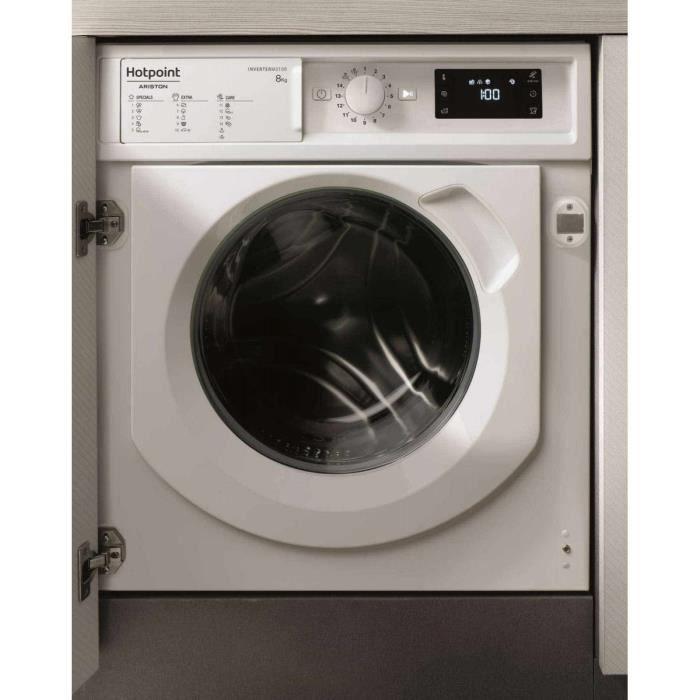 Lave-linge Intégrable Hotpoint Biwmhg 81484 Eu