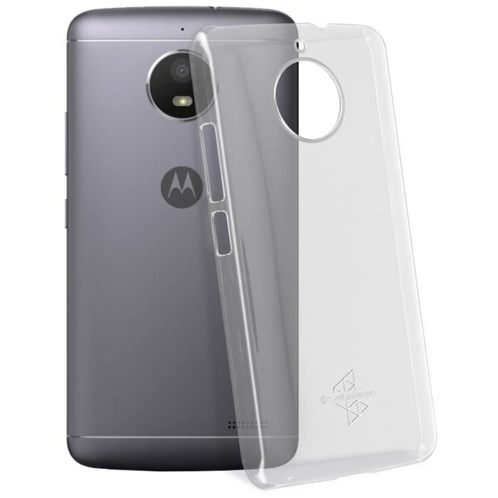 Coque Crystal Case Transparente Muvit Moto E4 Plus - Made for Moto