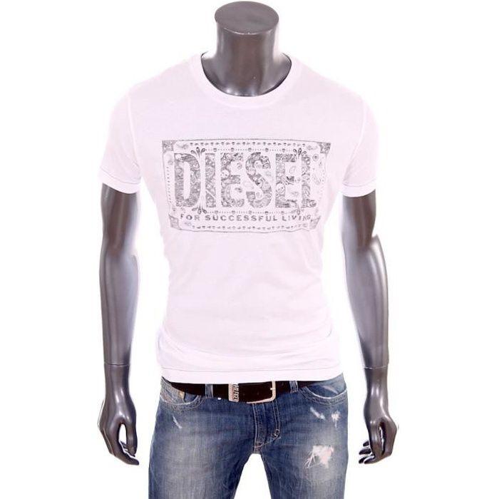 T-Shirt Diesel homme Nuente regu...