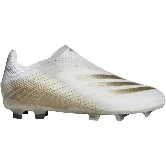 Adidas Chaussures de Football Enfant X Ghosted + Fg Inflight Pack Blanc 36