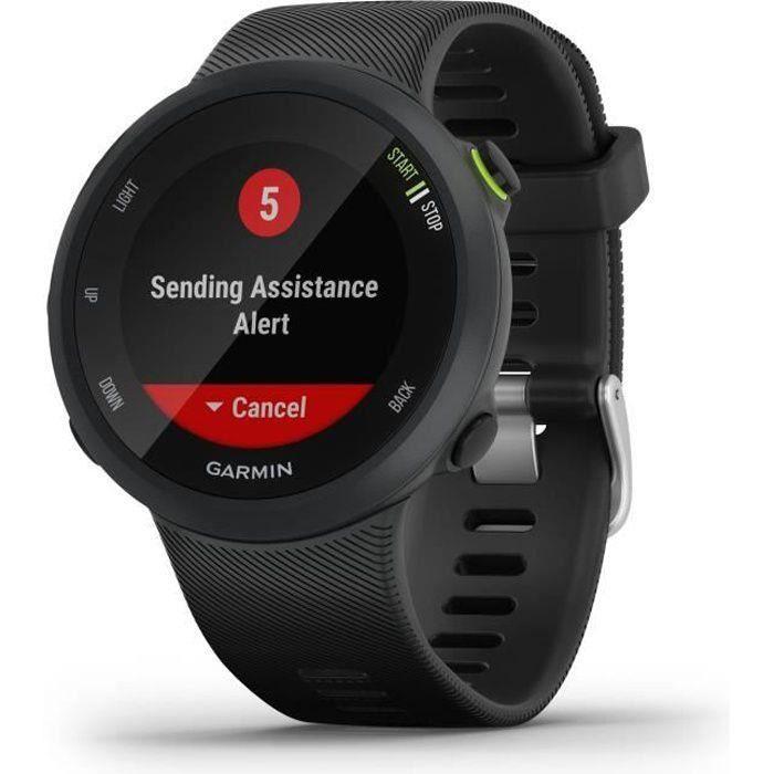 Garmin Forerunner® 45 - Montre de course GPS connectée - Large - Noir