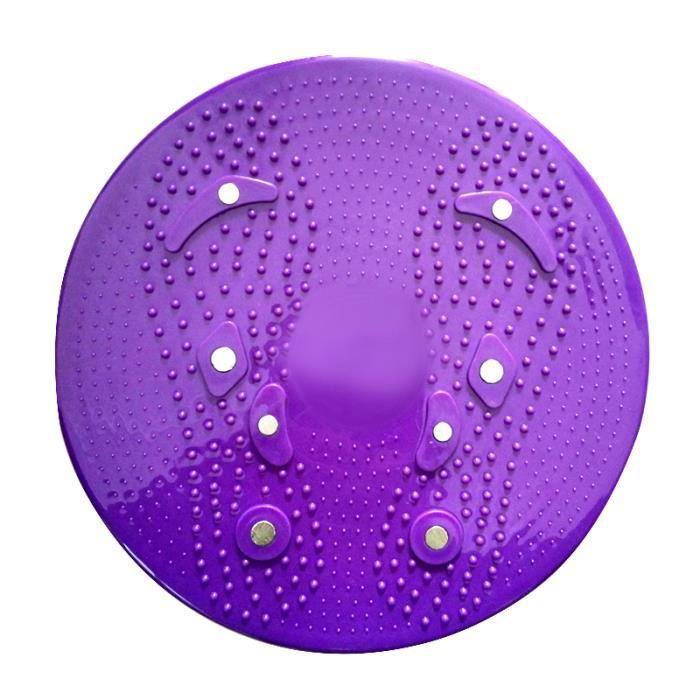 Équipement de remise en forme de planche d'équilibre de disque de torsion de taille pour l'exercice aérobique de corps à la maison