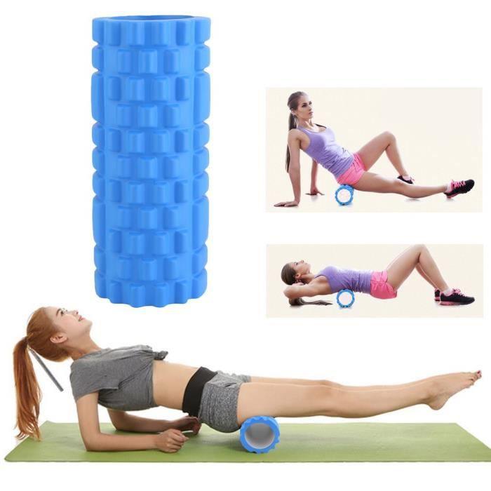 33x14 CM EVA Yoga Colonne Rouleau Train Gym Accueil Massage Détente Santé Outil