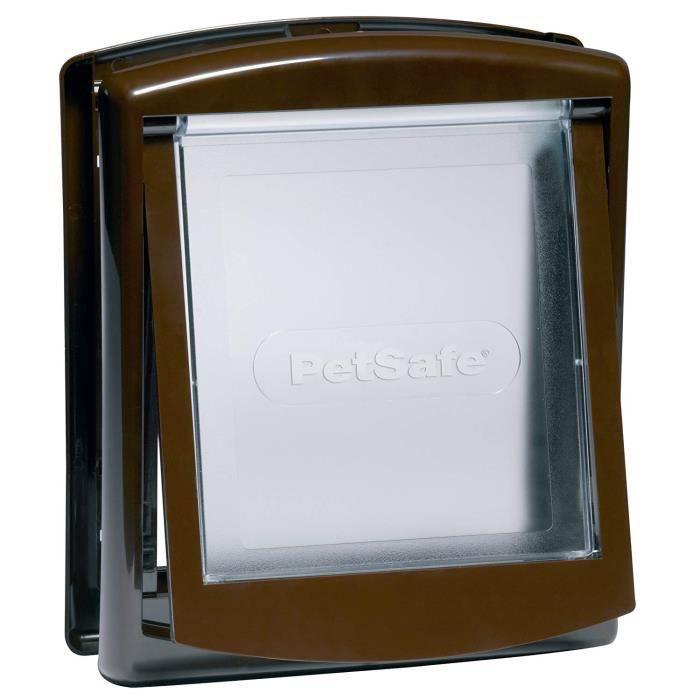 PetSafe Staywell Original 2 Way Pet Door Brown Small, - 730EF