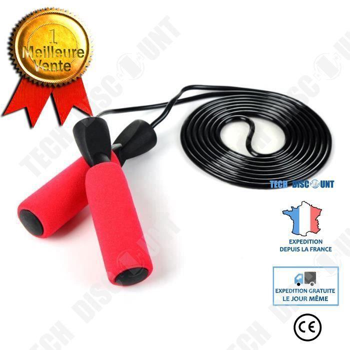 TD® Fourniture de corde à sauter corde à sauter spéciale pour les examens corde à sauter spéciale pour l'examen d'entrée au lycée, r