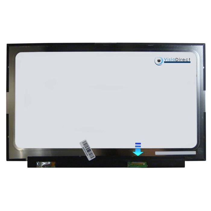 Dalle ecran 14 LED type NV140FHM-N48 V8.2 1920X1080 30pin 315mm sans fixation