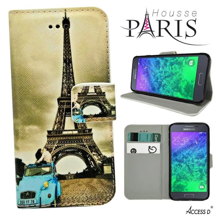 Housse paris tour eiffel 2cv samsung galaxy s5 mini for Housse tour eiffel