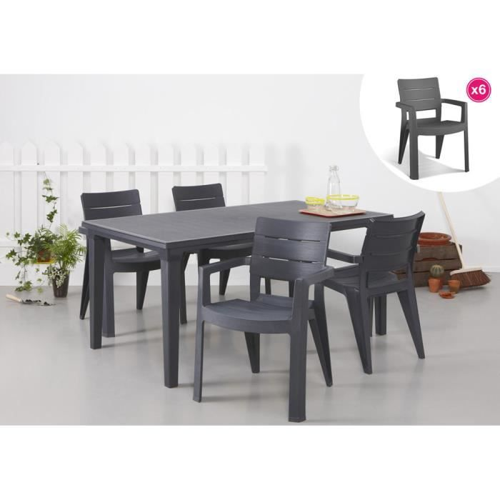 Stunning salon de jardin allibert new york gris anthracite - Salon de jardin allibert new york gris anthracite ...
