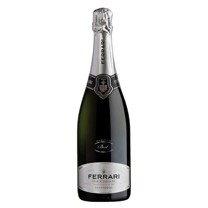 Vin italien Ferrari Maximum Brut - Achat / Vente pétillant & mousseux vin  Ferrari Maximum Brut - Cdiscount