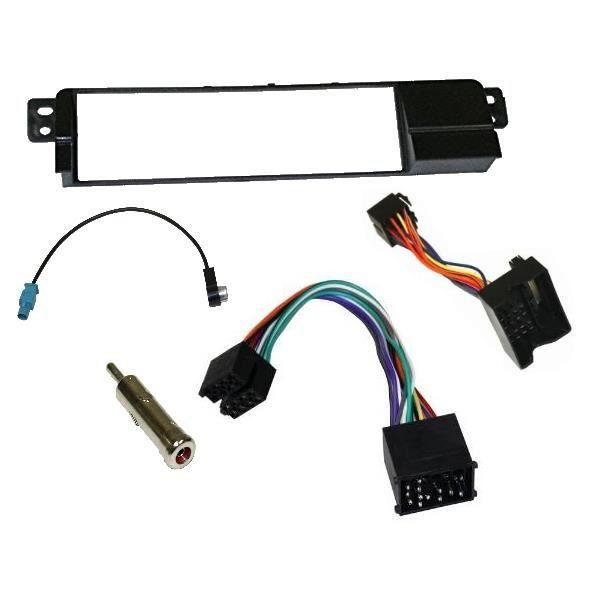 BMW 3er e46 façade radio autoradio cadre Adaptateur pour DIN AUTORADIO /& GT /& GT NEUF /& LT /& LT