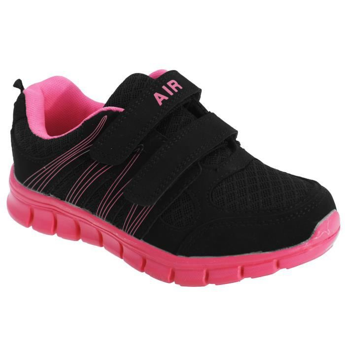 Dek Noir Baskets Scratch Garçon Noirfuchsia Air Sprint 80NOnXZPwk