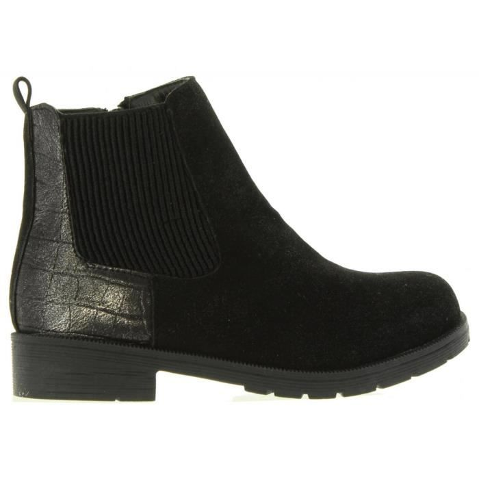 Bottes pour Fille Sprox 370761-B4020 BLACK-PEWTER