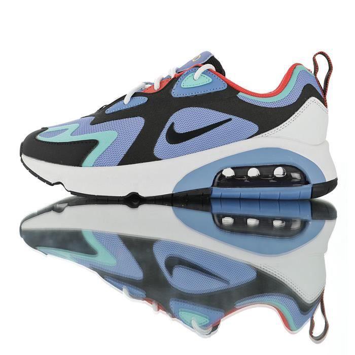 Baskets Nike Air Max 200 Homme Bleu Bleu Achat Vente