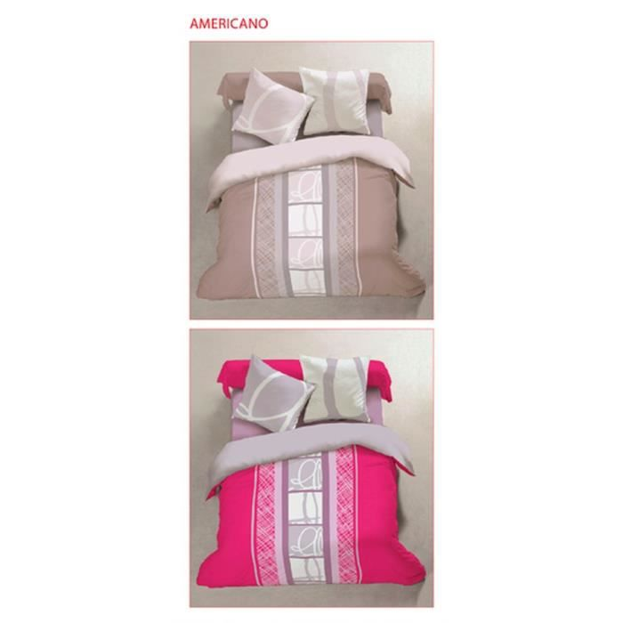 housse de couette flanelle 220 x 240 cm vieux rose achat. Black Bedroom Furniture Sets. Home Design Ideas
