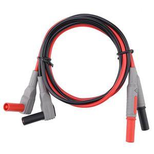 1000 V multim/ètre Test Conduit Banana Plug /à Meter Leads Probe Multim/ètre 15A 31.5 Prise Multim/ètre Fils de Test 110cm 2 Pcs 20A