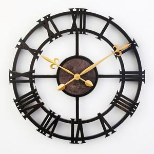 horloge chiffre romain achat vente horloge chiffre. Black Bedroom Furniture Sets. Home Design Ideas