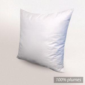 OREILLER Oreiller 65x65cm PLUMES 100% Plumes Canard