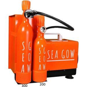 COMPRESSEUR Recharger vos bouteilles Seagow avec le Compresseu