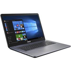 """Achat PC Portable ASUS Ordinateur Portable - VivoBook 17 X705UA-BX402T - Écran 43,9 cm (17,3"""") - 1600 x 900 - Core i3 i3-6006U - 4 Go RAM - 256 Go pas cher"""