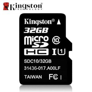 CARTE MÉMOIRE Carte Mémoire Micro SD 32 GB Kingston  - M3447