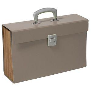 TRIEUR - PARAPHEUR CLEMENTINA FROG Trieur carton - 12 compartiments -
