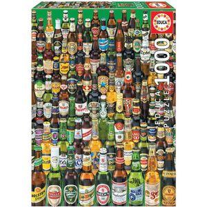 PUZZLE EDUCA Puzzle 1000 Pièces - Bières