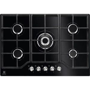 PLAQUE GAZ KGG7536K - table de cuisson gaz 74cm 5 feux 10900w