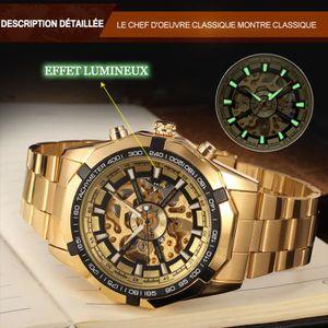 MONTRE Fsg8042m4g3 Forsining Automatique Bracelet En Acie