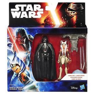 FIGURINE - PERSONNAGE Hasbro - Lot de 2 personnages Star Wars - Darth Va