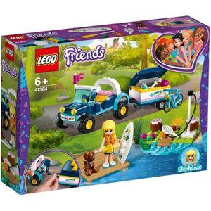 ASSEMBLAGE CONSTRUCTION LEGO® Friends 41364 Le buggy et la remorque de Sté