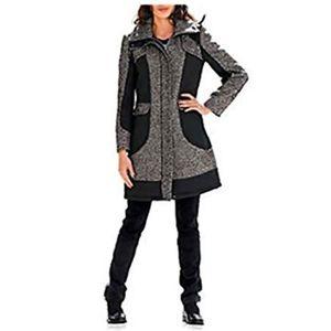Femme Femmes Cravate Ceinture Cardigan Maxi Cascade italien Cape Duster Trench Coat