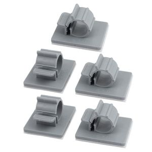 SERRE-CABLE sourcing map 5Pc TS-0910 Self Adhésif Ajustable At