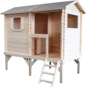 MAISONNETTE EXTÉRIEURE Cabane en bois pour enfant  JADE