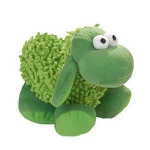 PELUCHE POUR ANIMAL Peluche Mouton Vert 22 cm - Jouet pour Chien