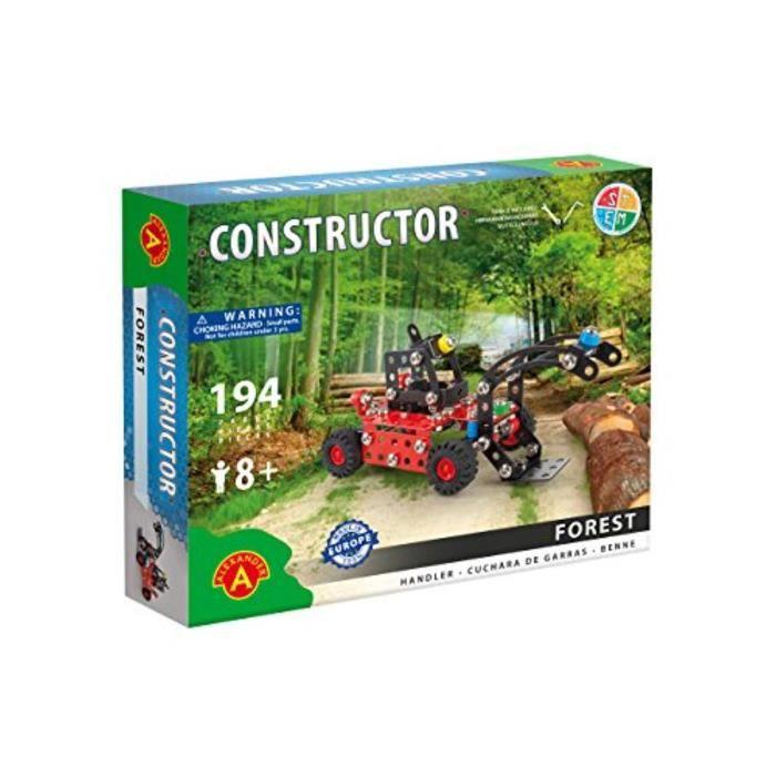 Jeu D'Assemblage MY30O constructeur d'érection - ensemble de construction de modèle de forêt (déménageur de bois), 194 pièces, pour