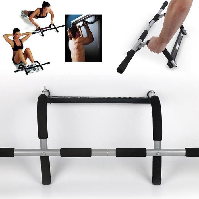 Barre de traction/musculation du haut du corps multifonction