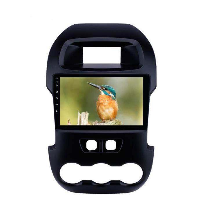 GPS 2Din Android 9.1 9 -unité principale autoradio stéréo voiture lecteur multimédia pour Ford Ranger 2011 2012 2013 2014 support SW