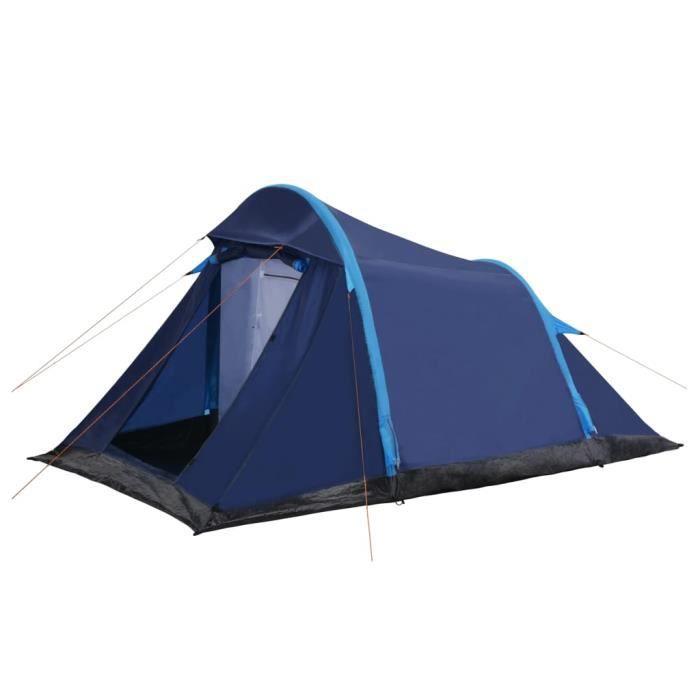 #MEUBLE#9731Chic Tente de camping familiale escamotable 2-4 personnes Haut de gamme Professionnel - Tente de Voyage instantanée Exté