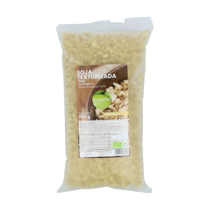 Soja texturée fin 250 g éco naturitas - 100% protéine végétale - Riche en fibres