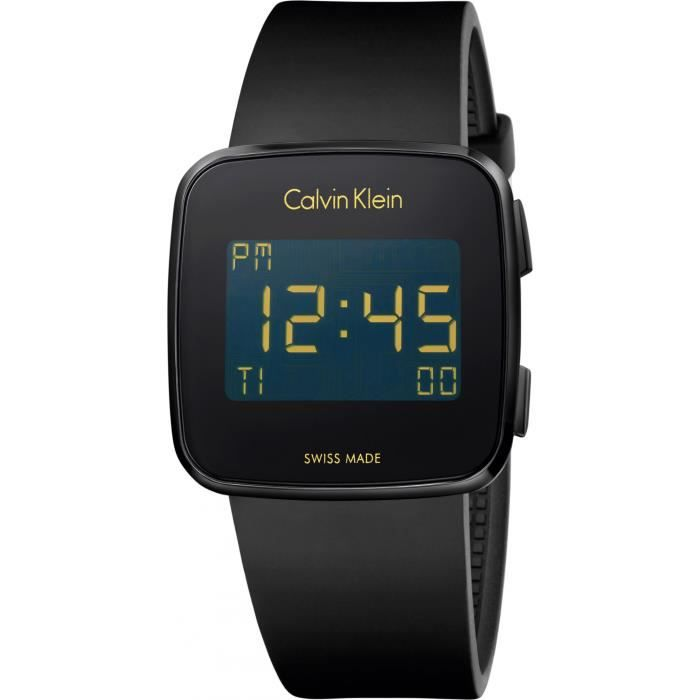 Calvin Klein Future K5C214D1 Montre digitale Excellente Lisibilité