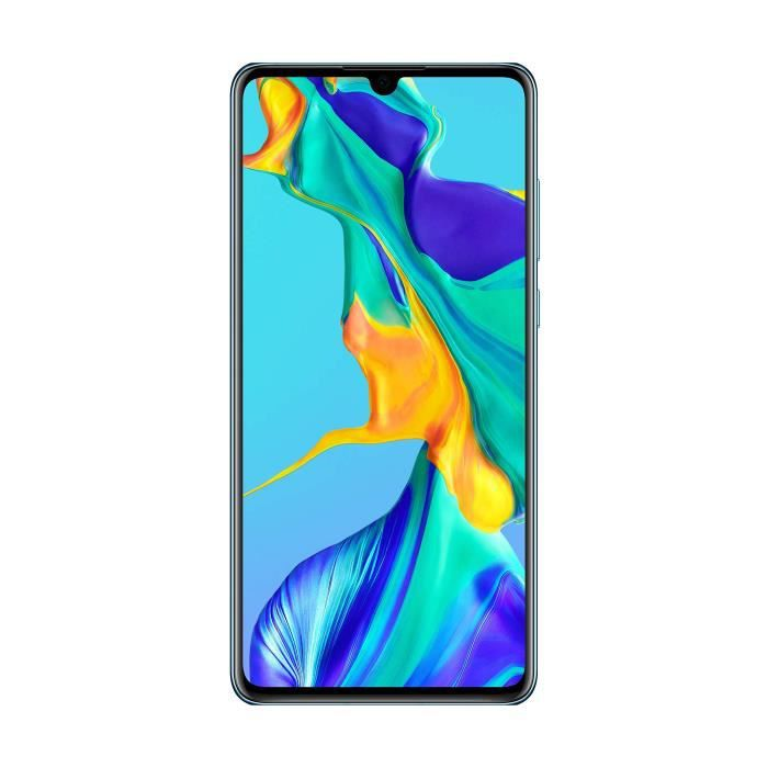 Huawei P30 Smartphone débloqué 4G (6,1 pouces - 6-128Go - Double Nano SIM - Android 9) Blanc Nacré