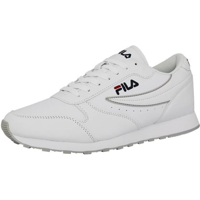 Fila ORBIT LOW Chaussures Mode Sneakers Homme Blanc