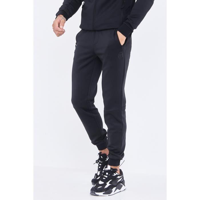 Pantalon de jogging Donet noir / Sergio Tacchini